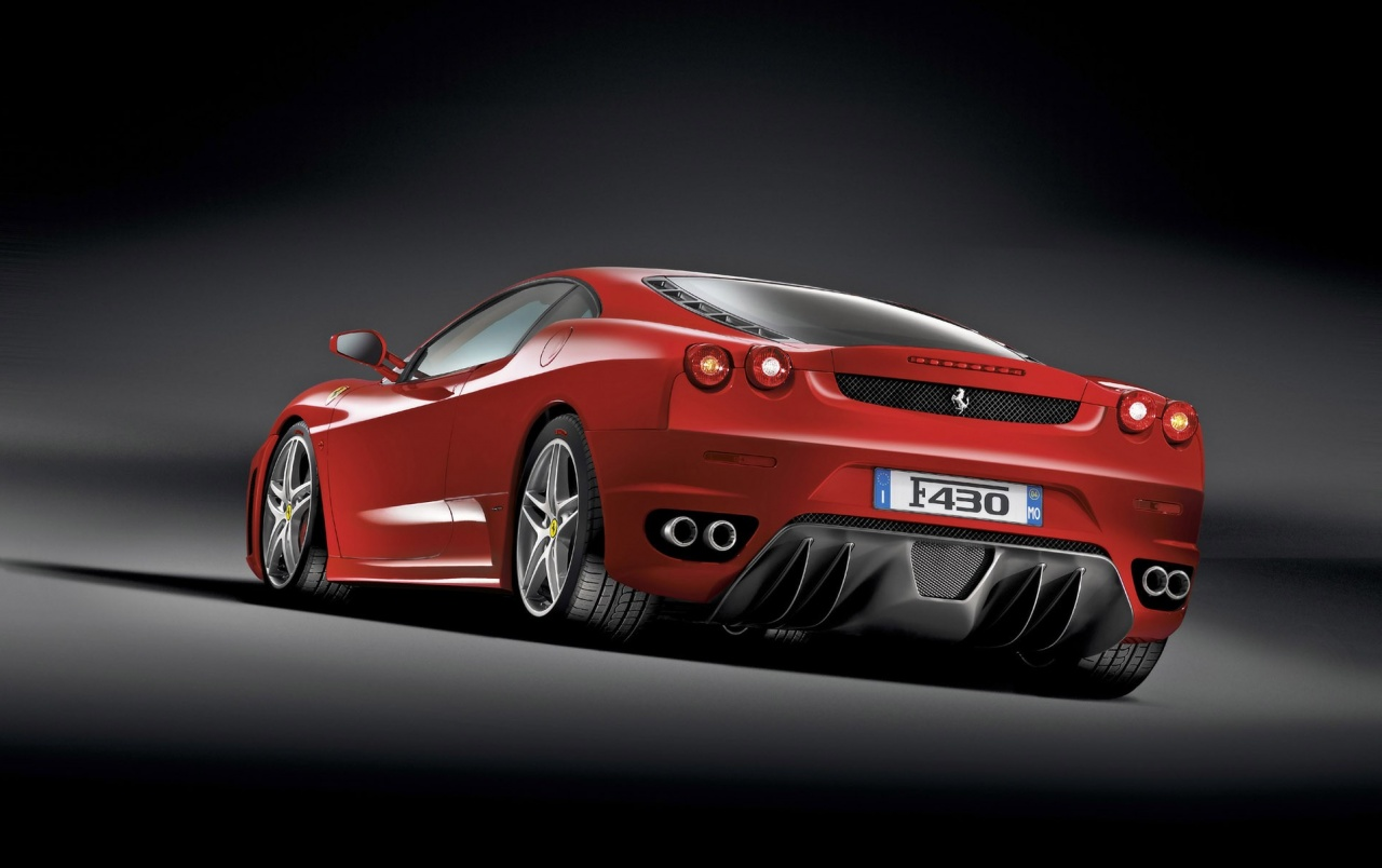 Ferrari F430 rear wallpapers