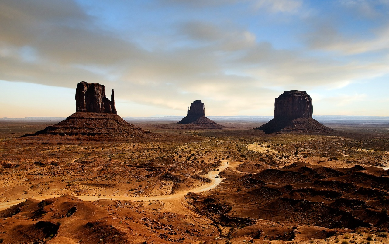 Download x wallpaper landscape monument valley usa night