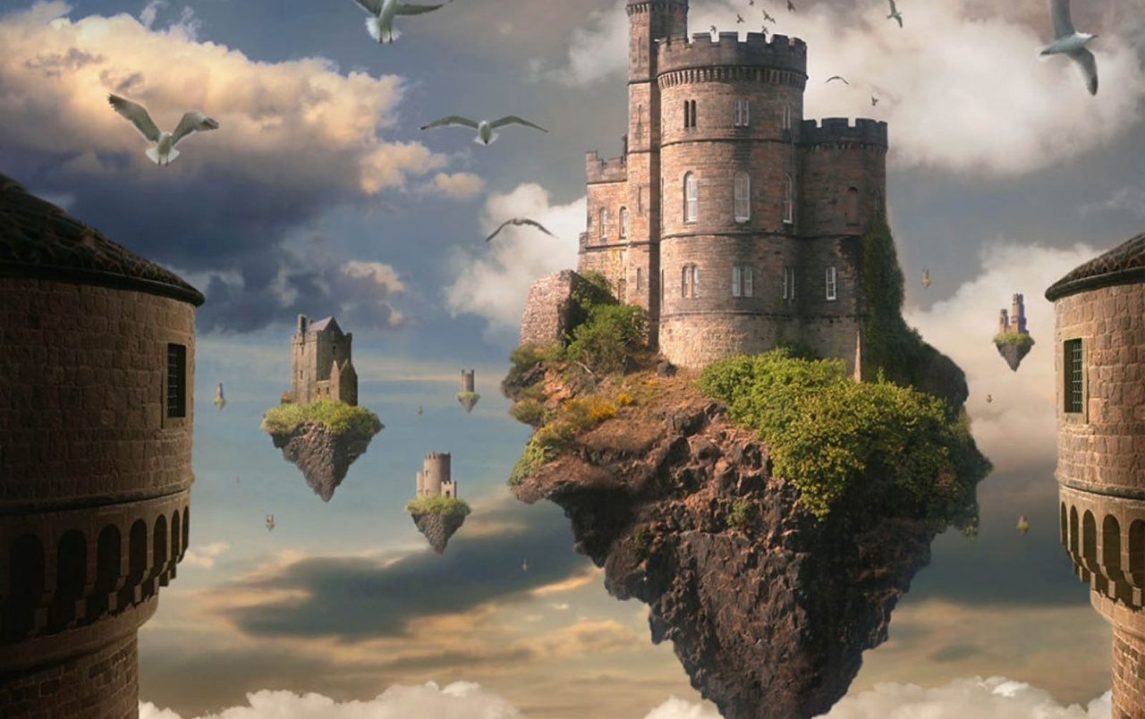 Floating Castle Wallpapers Floating Castle Stock Photos