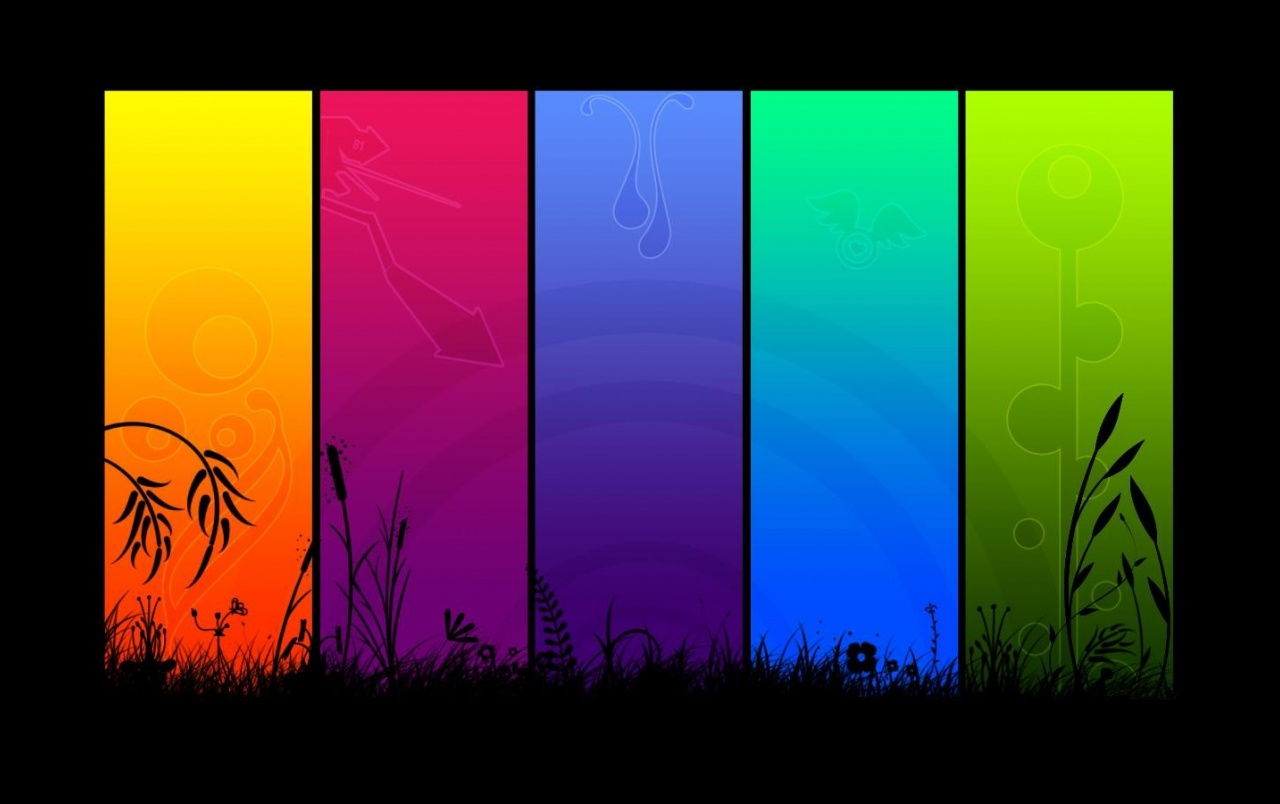Rainbow of colors wallpapers