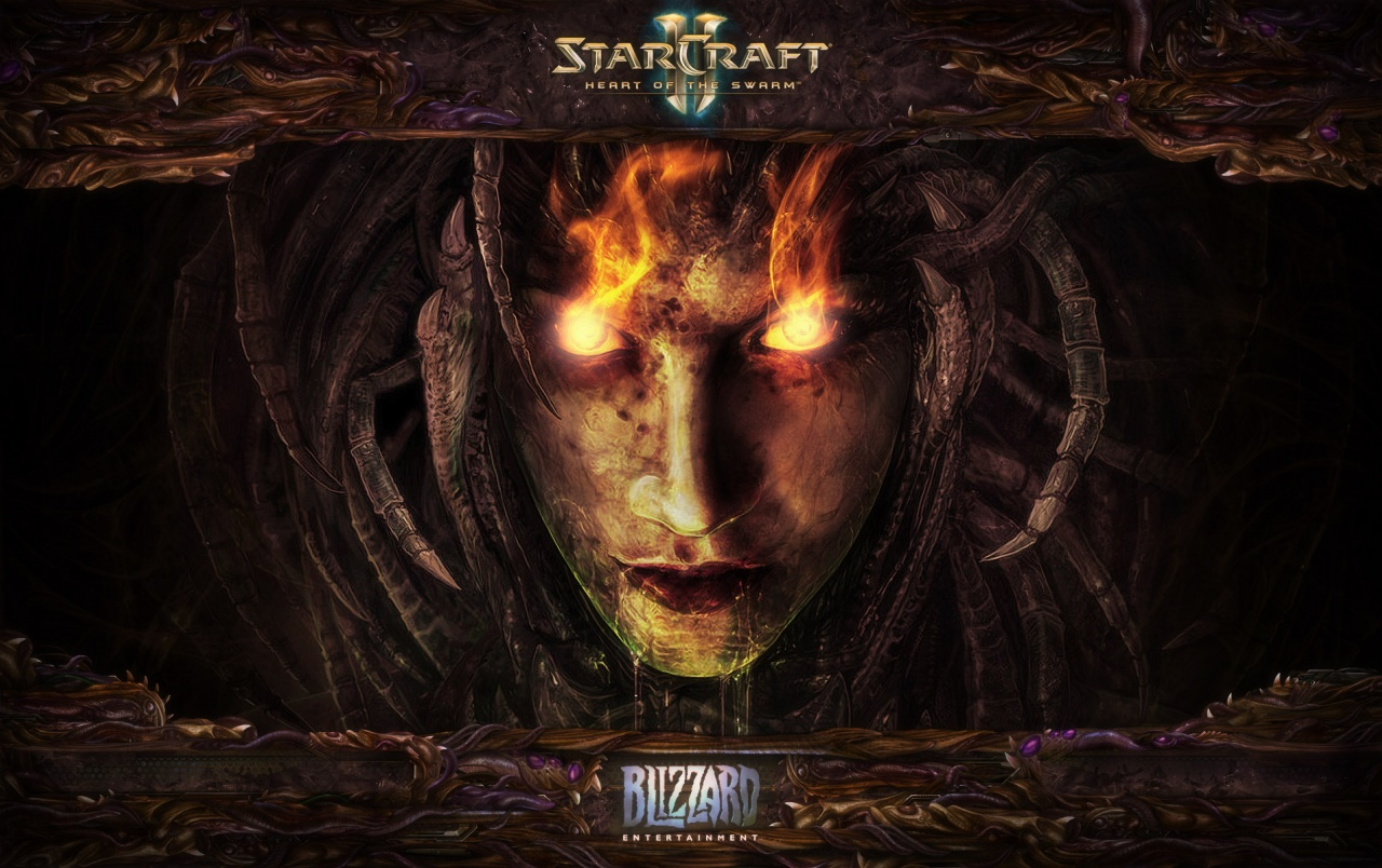 Starcraft 2 Heart Of The Swarm Wallpapers Starcraft 2