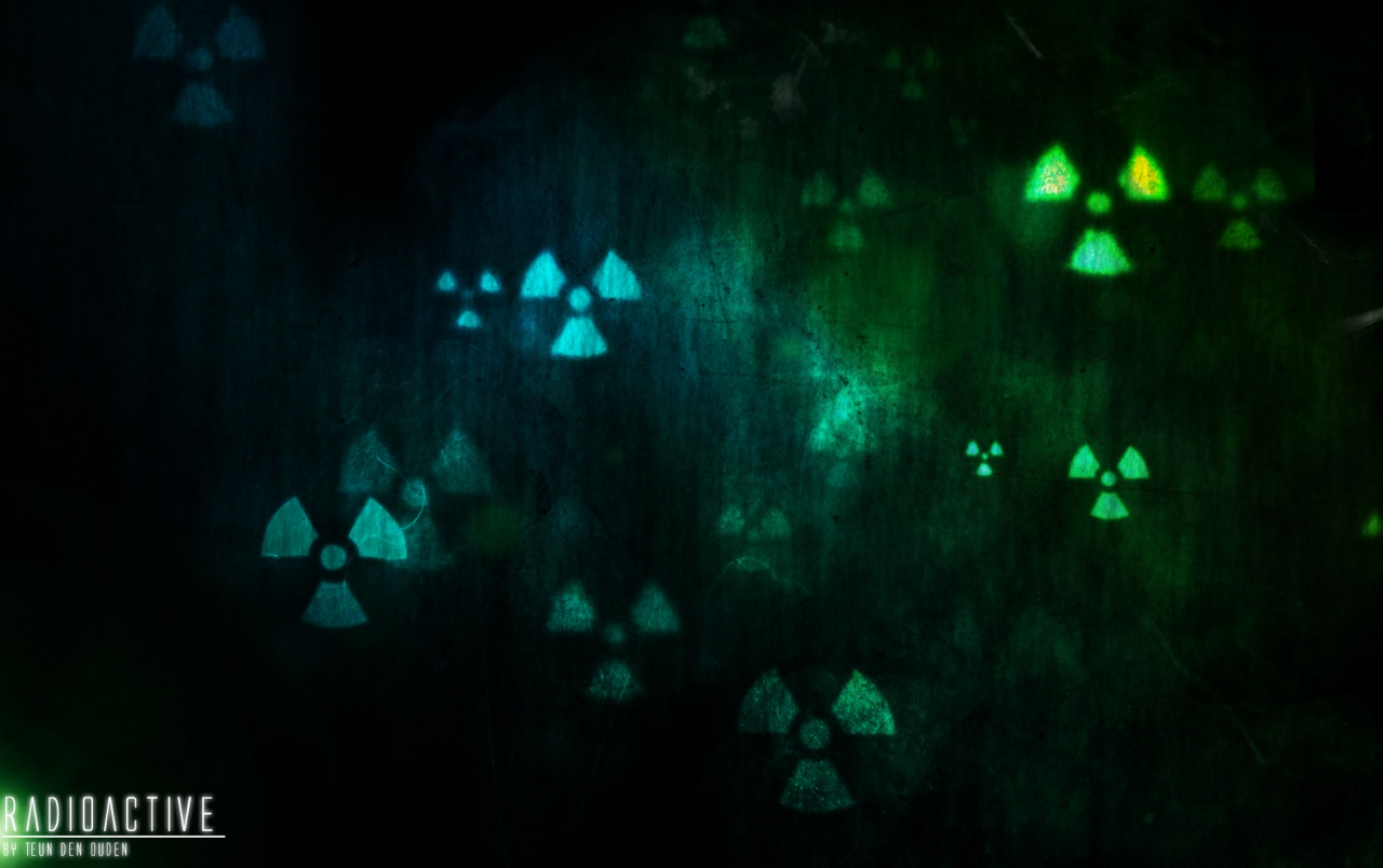 Radioactive wallpapers