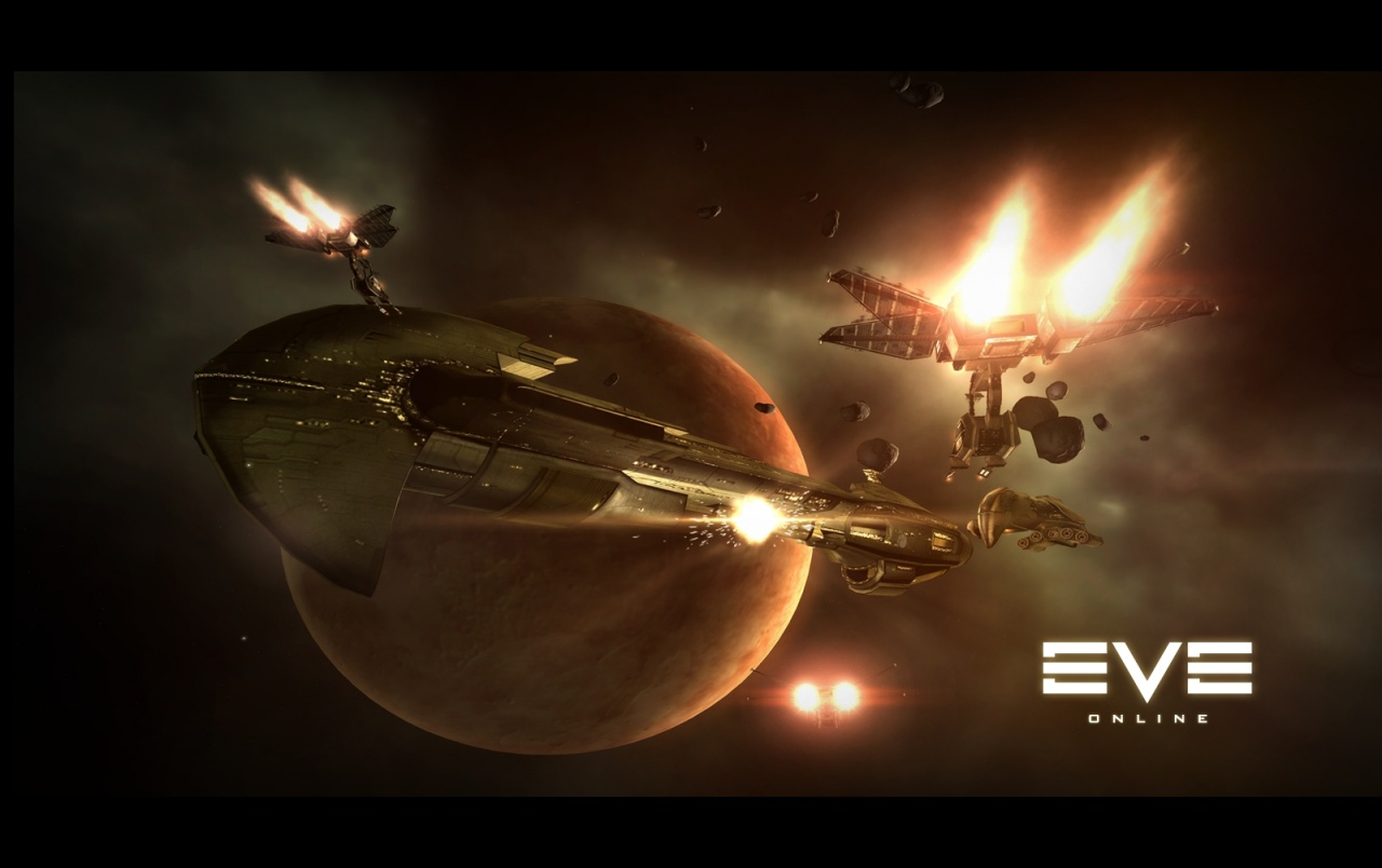 Eve Online Ships Stock Photos