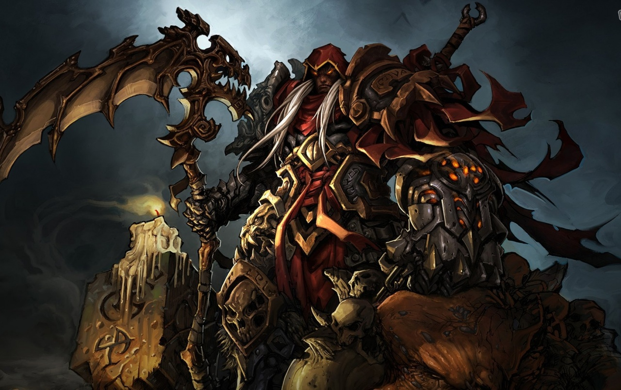 Darksiders War Wallpaper By: Darksiders Stock Photos