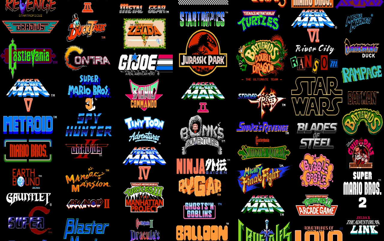 Retro: NES wallpapers