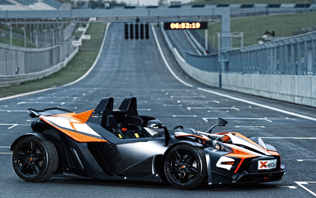 KTM Xbow Side View Wallpapers