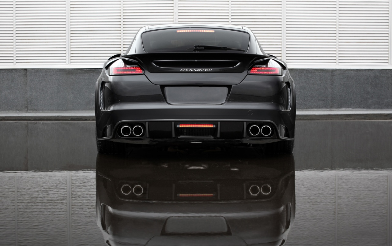 Panamera GTR Rear View Wallpapers