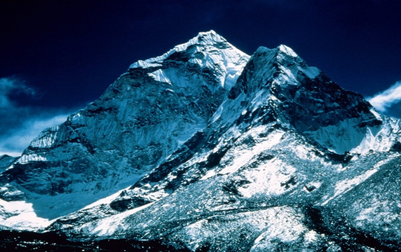 mount-everest-peak wallpapers