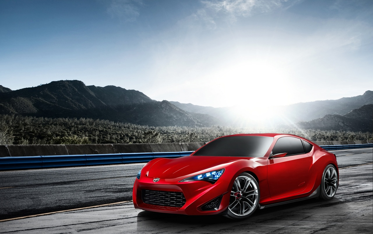 Scion Fr S Concept Front And Side Wallpapers Scion Fr S Concept