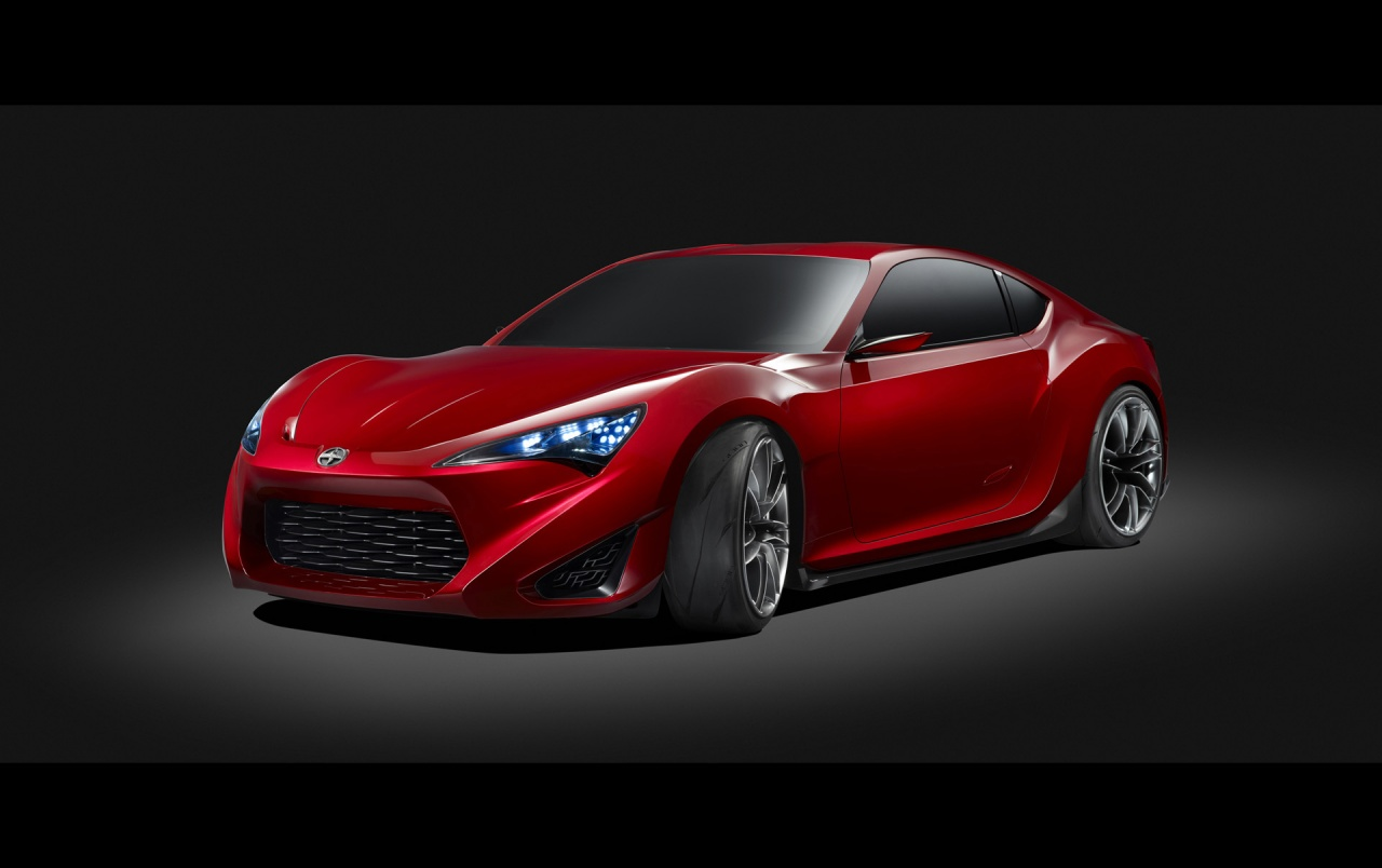 Scion Fr S Concept Studio Front And Side Wallpapers Scion Fr S