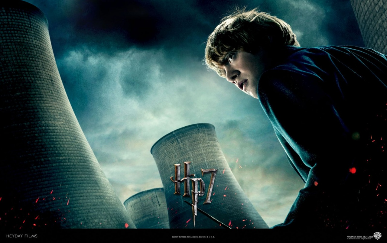Harry Potter And The Deathly Hallows Ron Wallpapers Harry