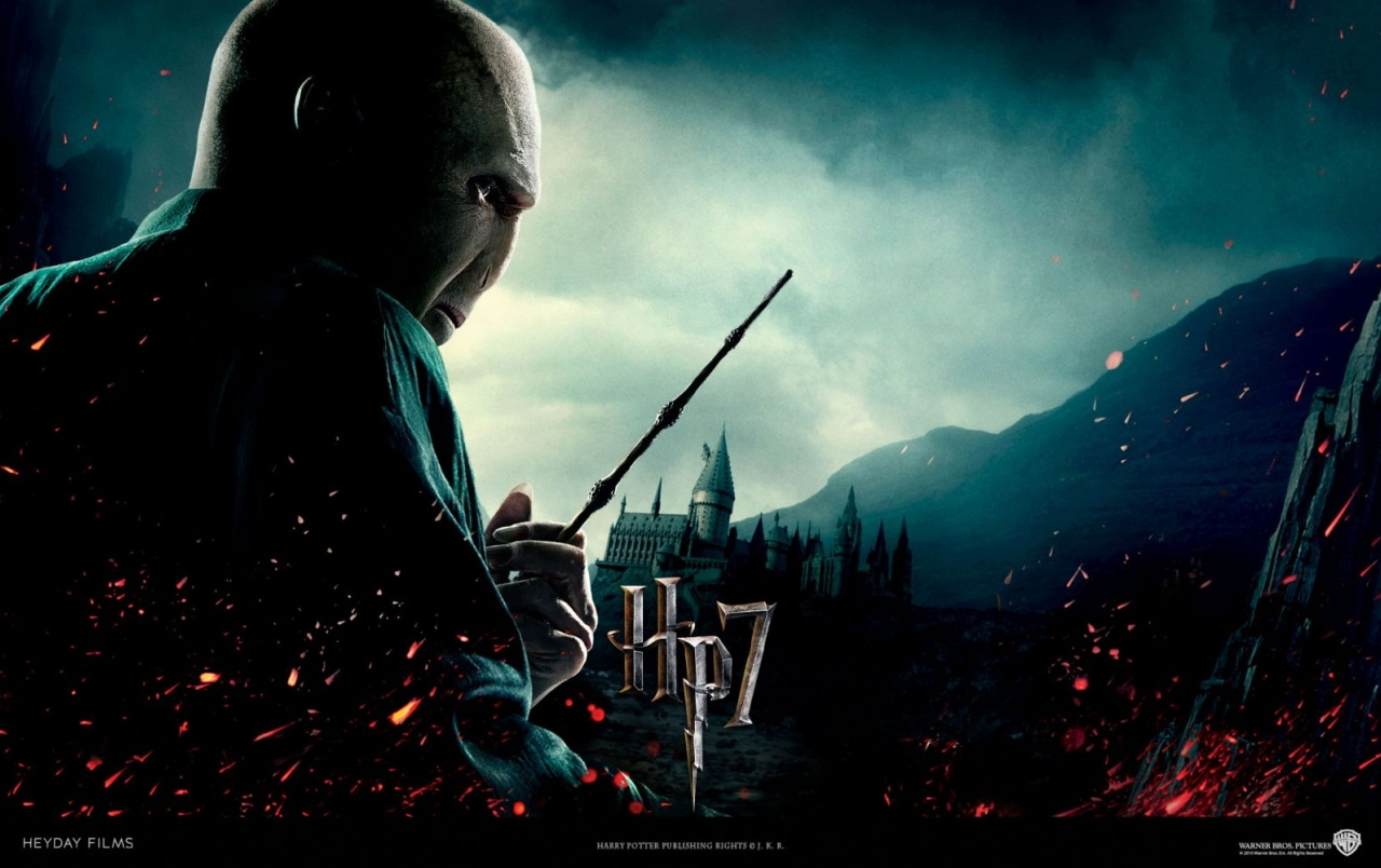harry potter and the deathly hallows: lord voldemort wallpapers