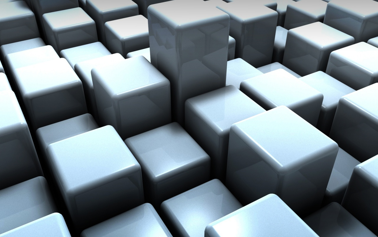 3d Cubes wallpapers