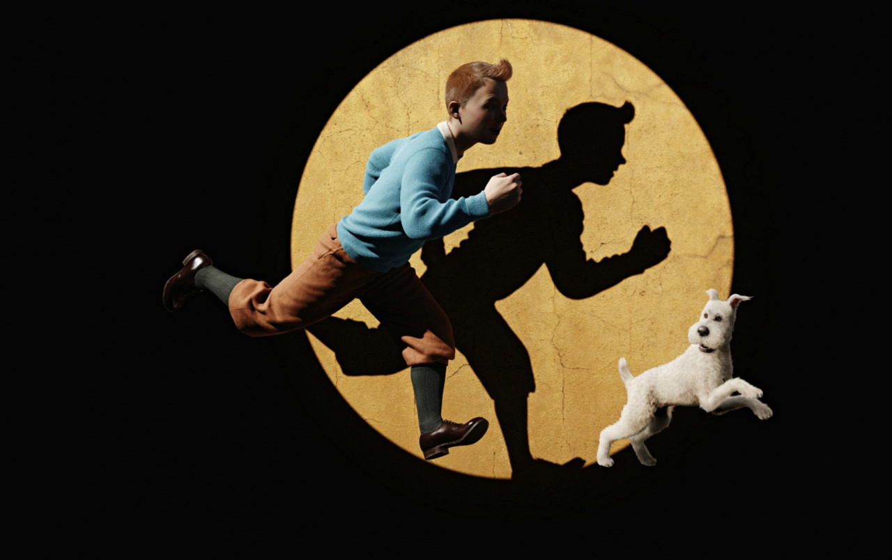 Tintin running wallpapers