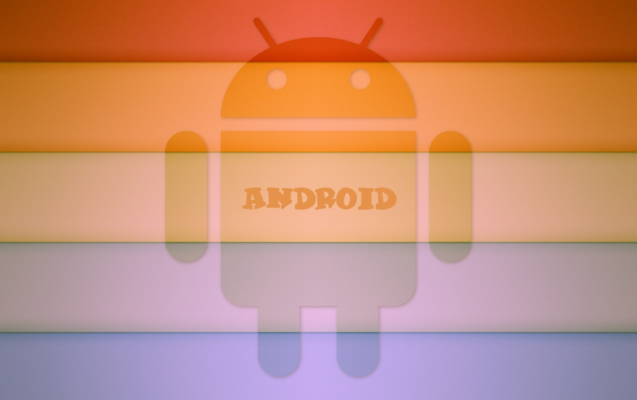 Android rainbow wallpapers