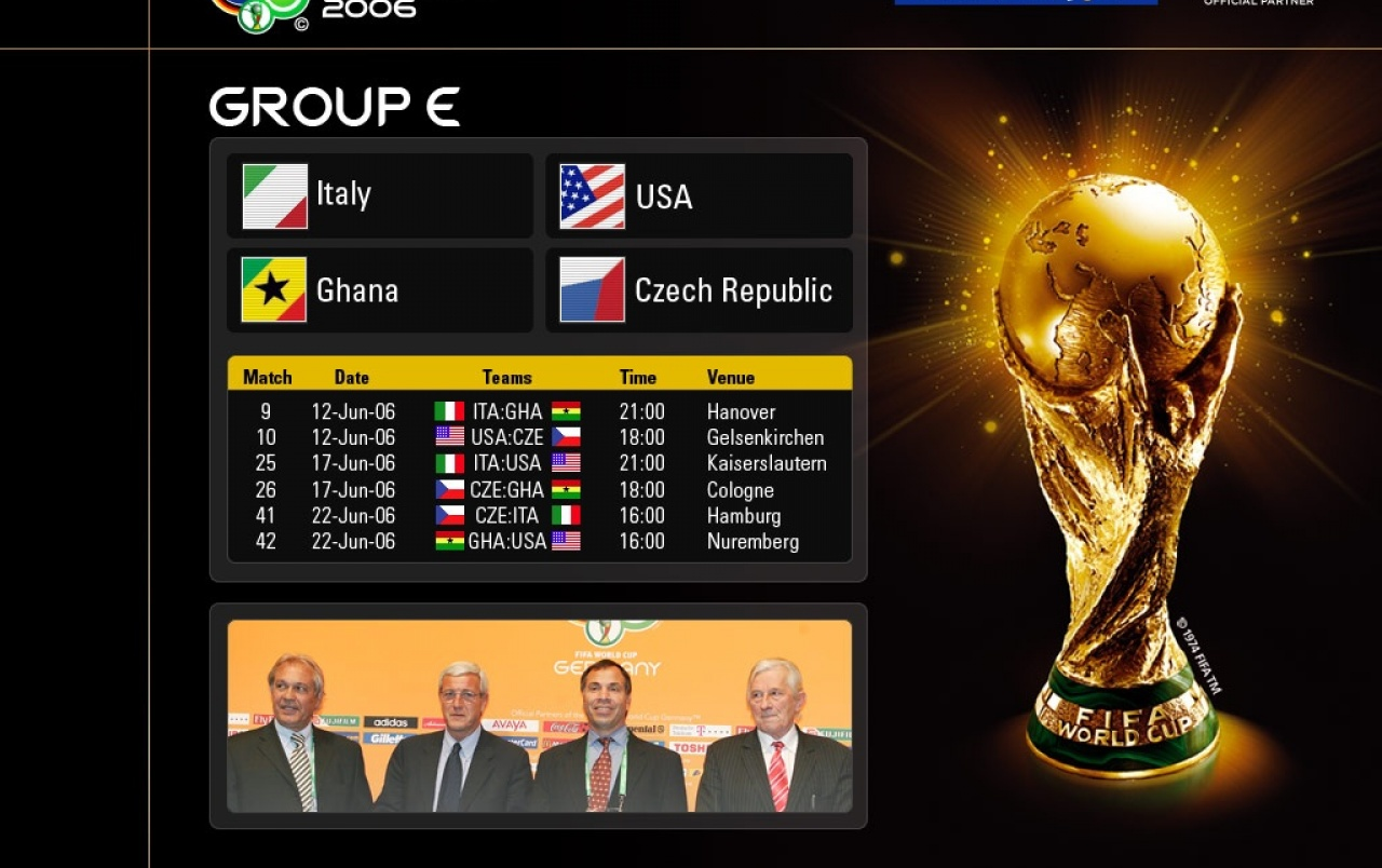 World Cup group E wallpapers