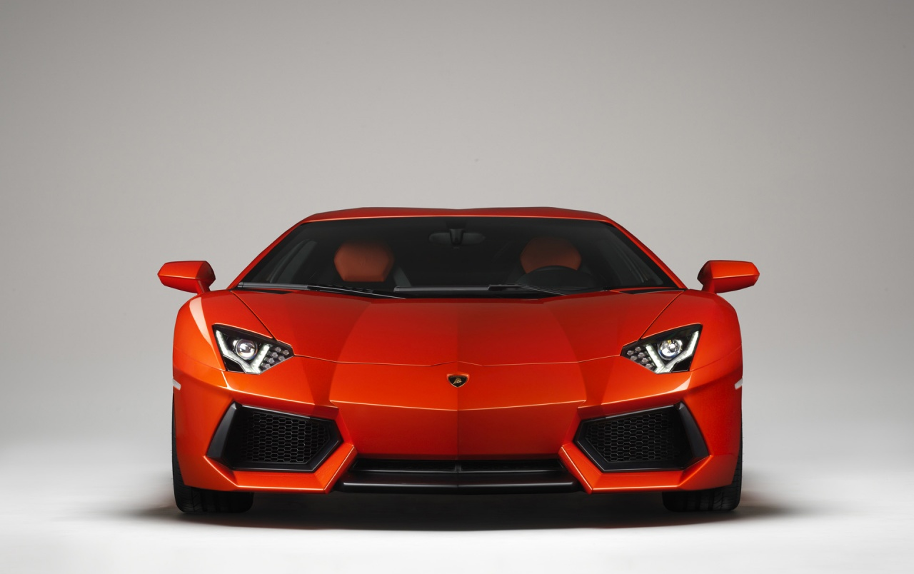 Lamborghini Aventador LP 700-4 Front wallpapers