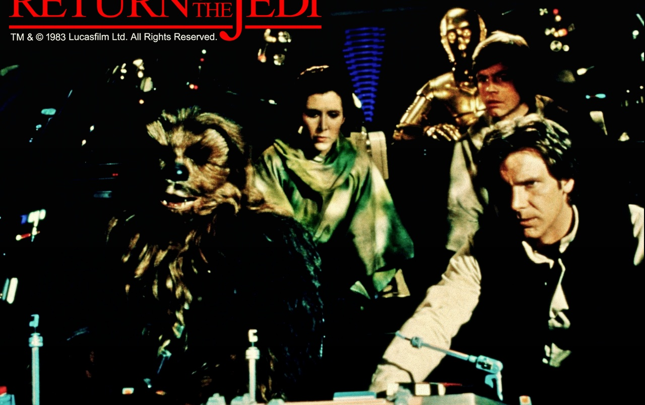 Star Wars Return Of The Jedi Wallpapers Star Wars Return Of