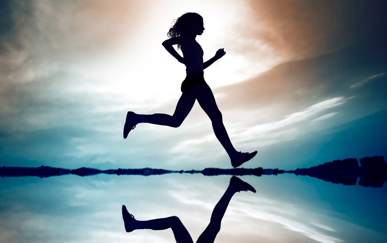 Girl Running wallpapers