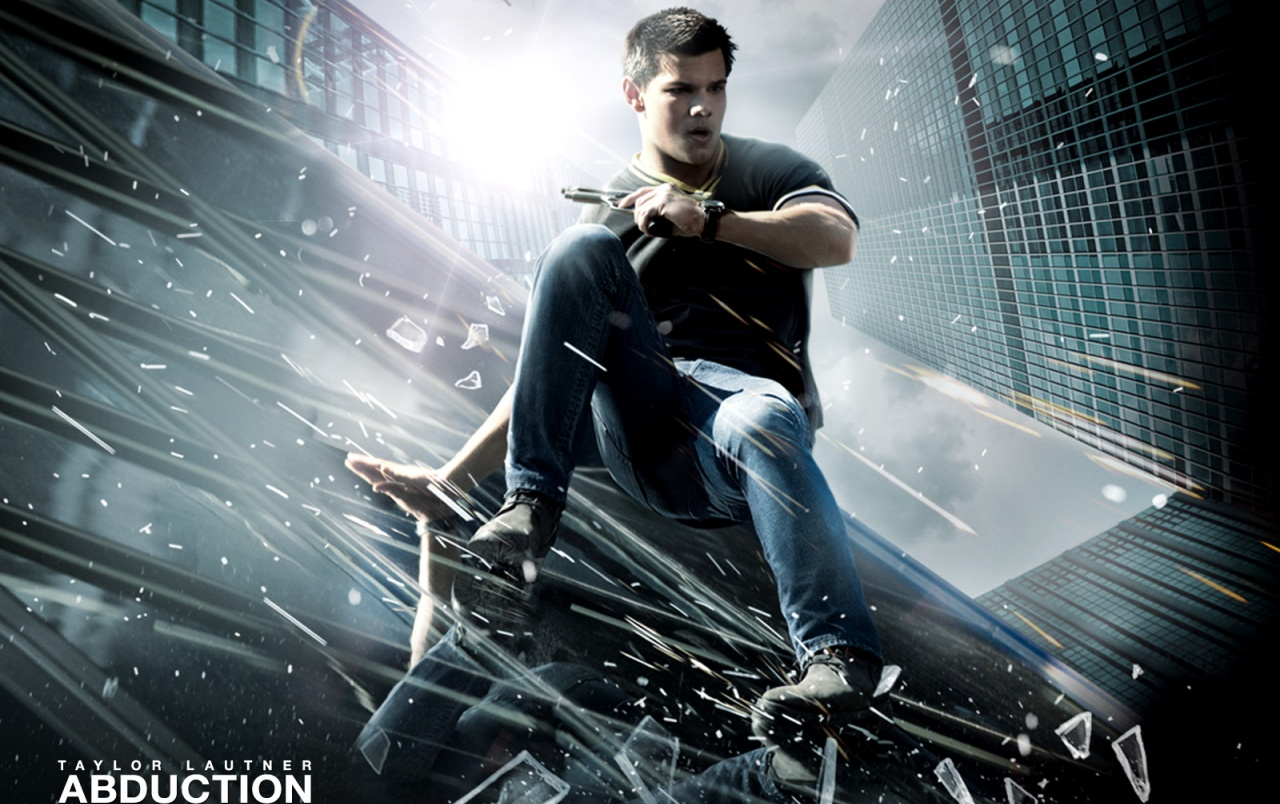Taylor Lautner Abduction wallpapers