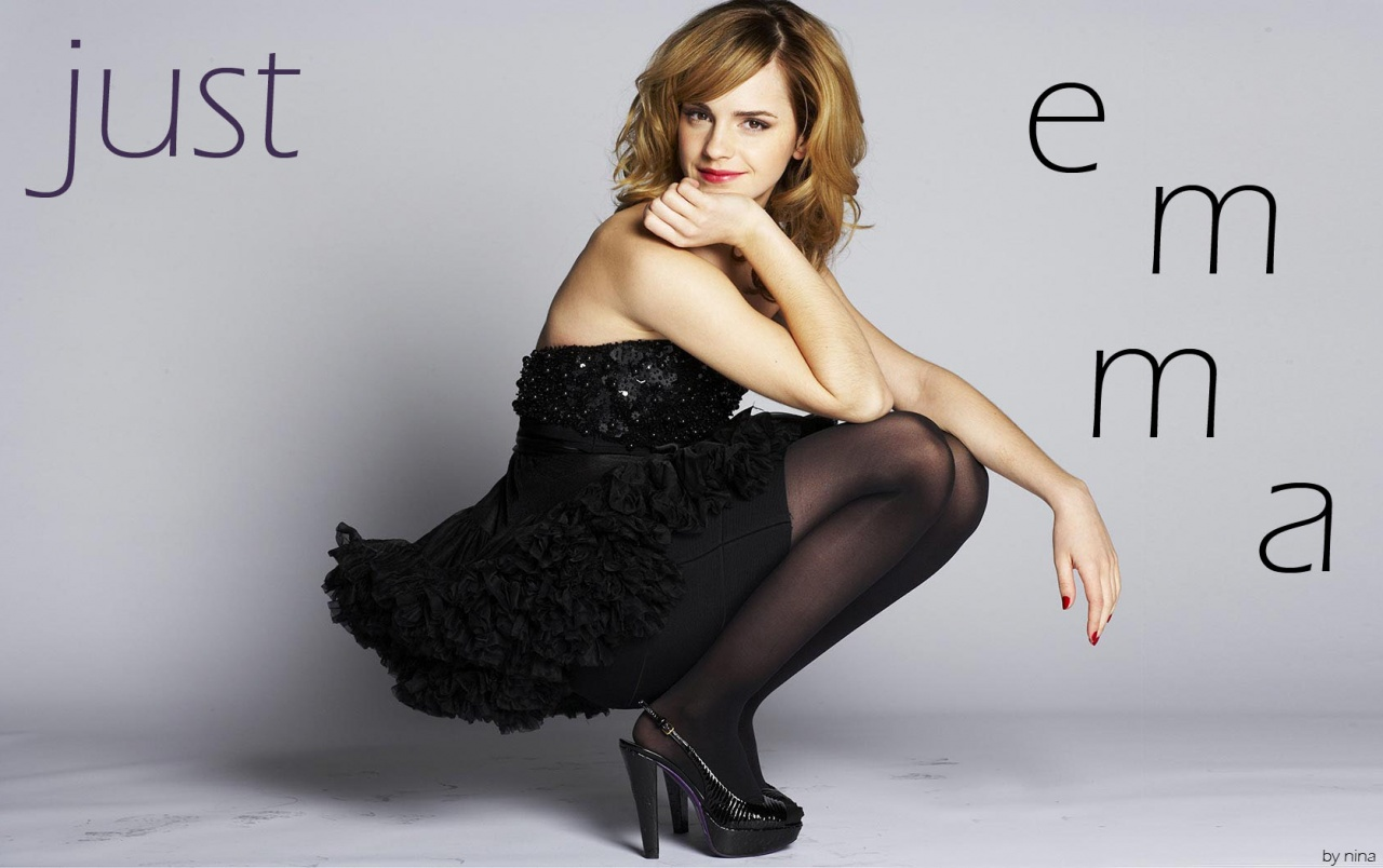 just emma (watson) 2 wallpapers