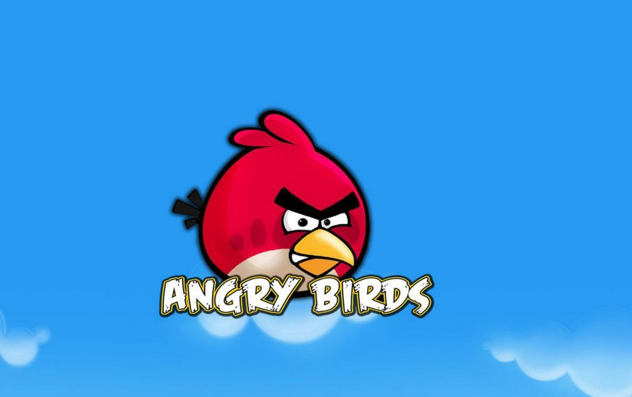Angry Birds Blue Sky wallpapers