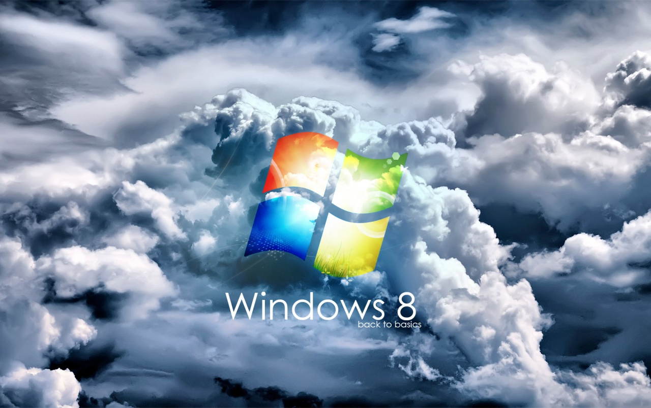 Windows 8 clouds wallpapers