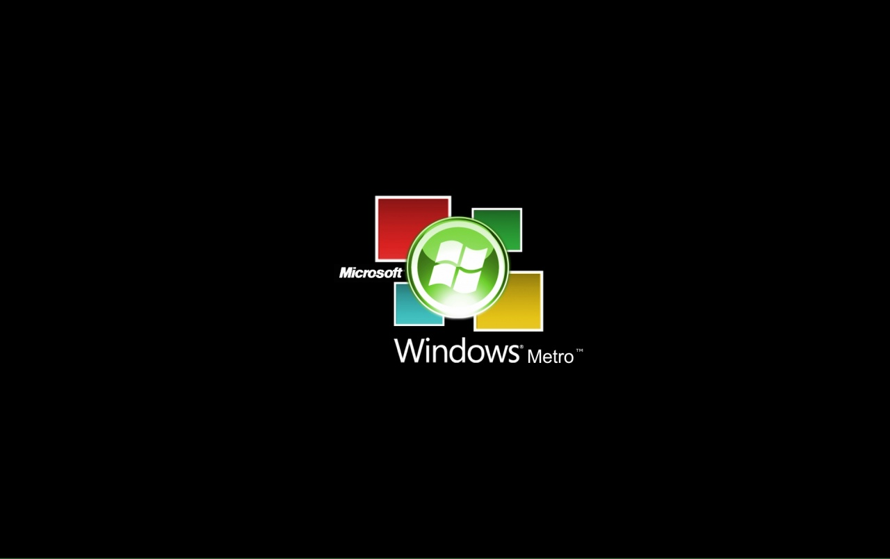 Windows Metro logo wallpapers