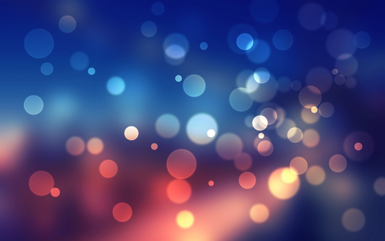 Blue bokeh wallpapers