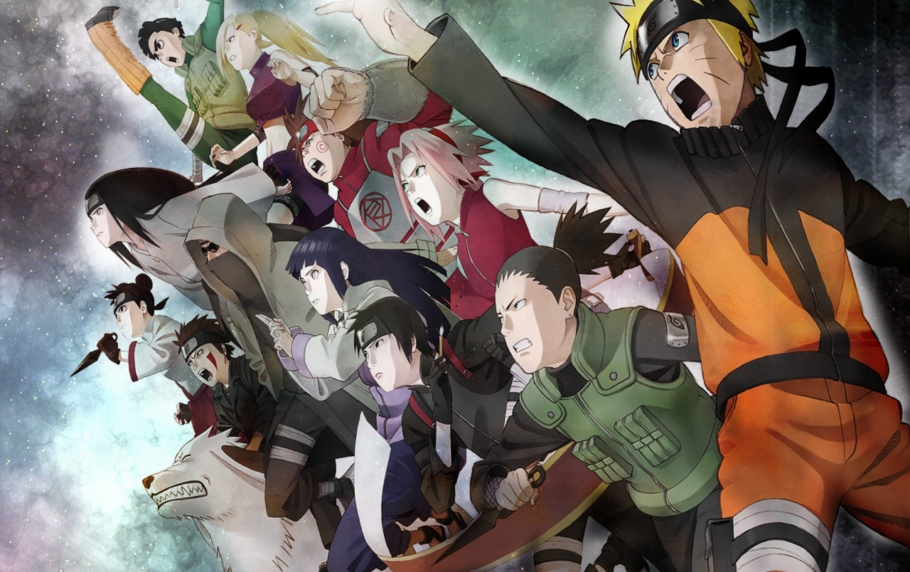 Naruto Characters In Real World Background Wallpaper: Naruto Group Stock Photos