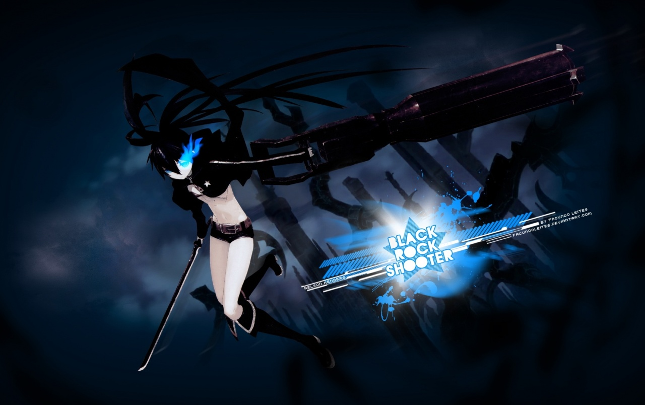 Negro Rock Shooter wallpapers