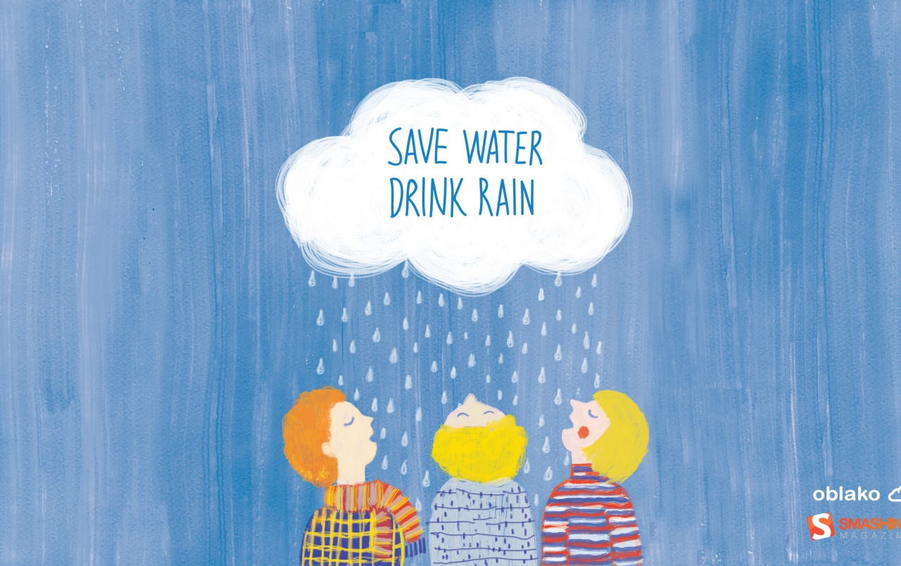 Save Water Drink Rain wallpapers