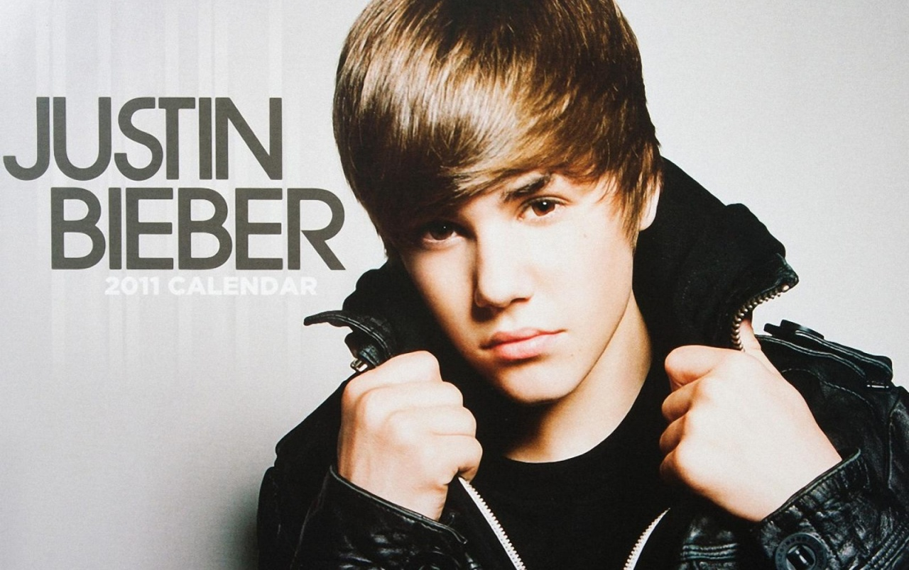 Justin Bieber 2011 Calendar Wallpapers And Stock Photos