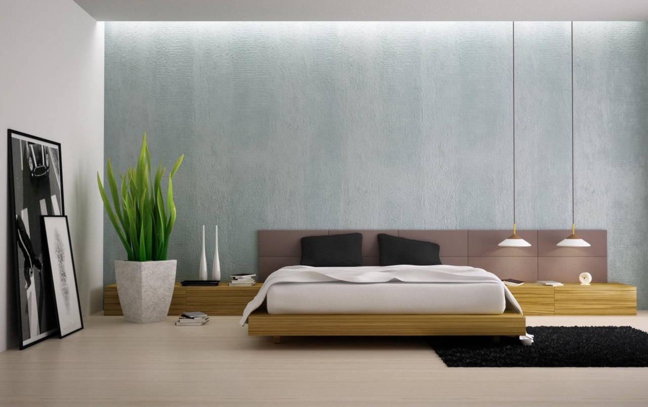 Wide Minimalist Interior Design Wallpapers