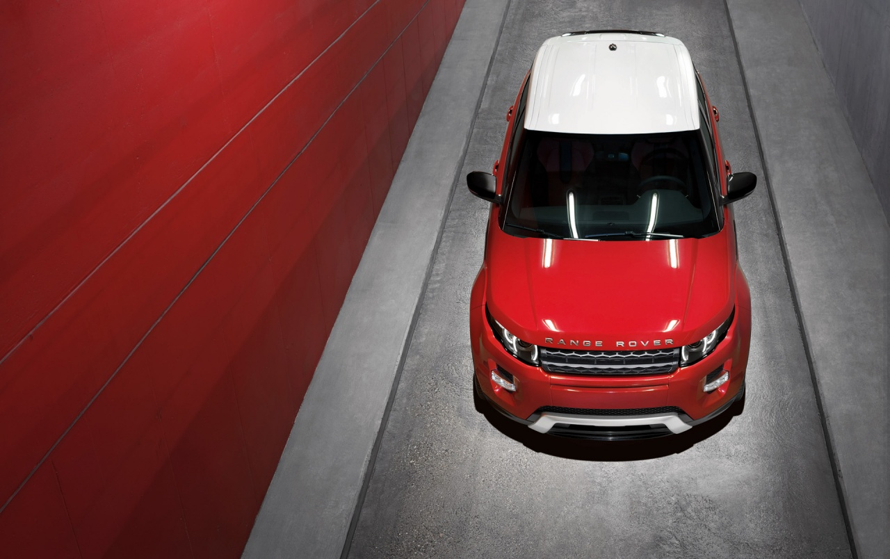2011 Range Rover Evoque 5-Door Top wallpapers