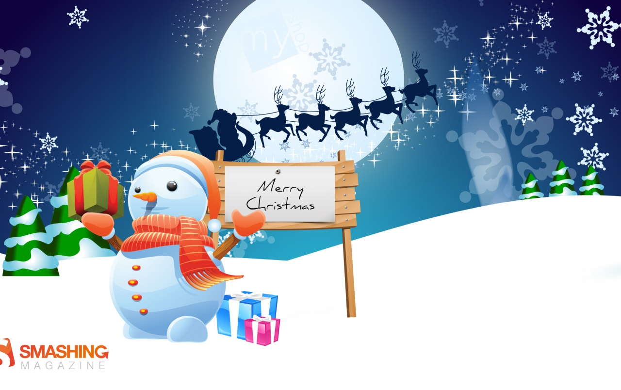 Mister Snowman wallpapers