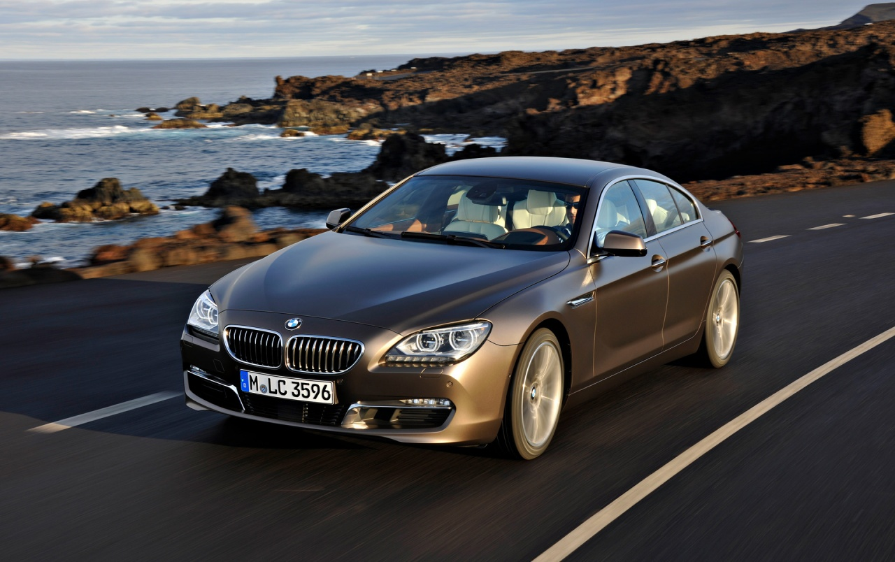 Bmw 6 Series Gran Coupe Front Speed Wallpapers Bmw 6