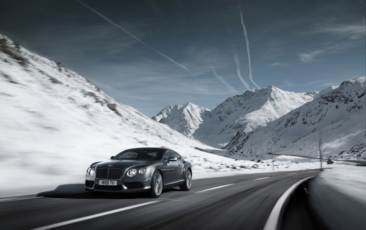 Bentley Continental GT V8 Gray wallpapers