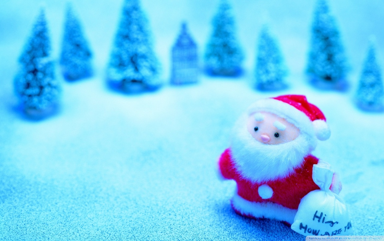 Santa Claus de juguete wallpapers