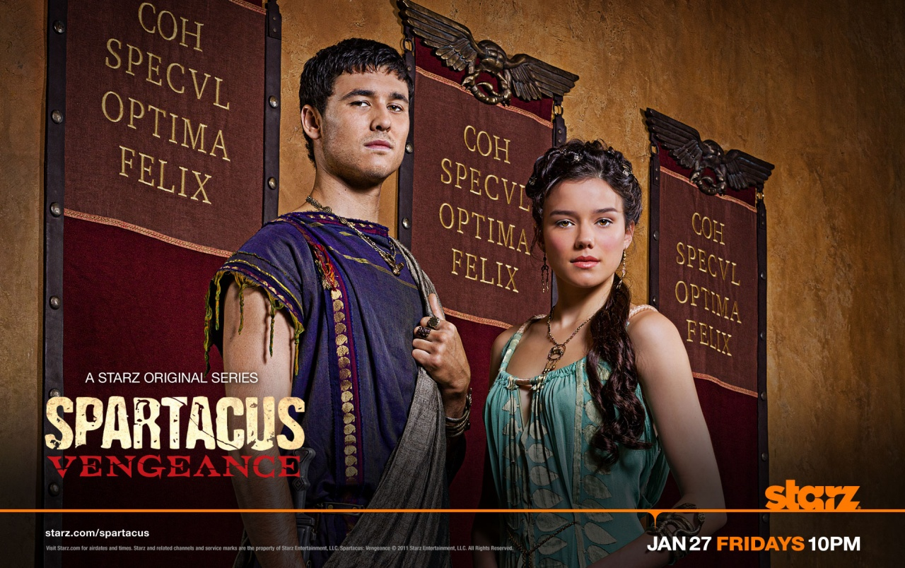 Spartacus Duo wallpapers