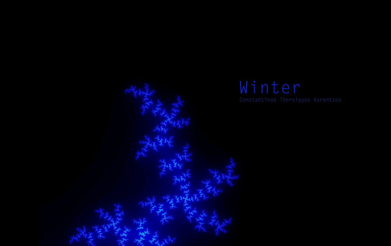 Winter Fractal wallpapers