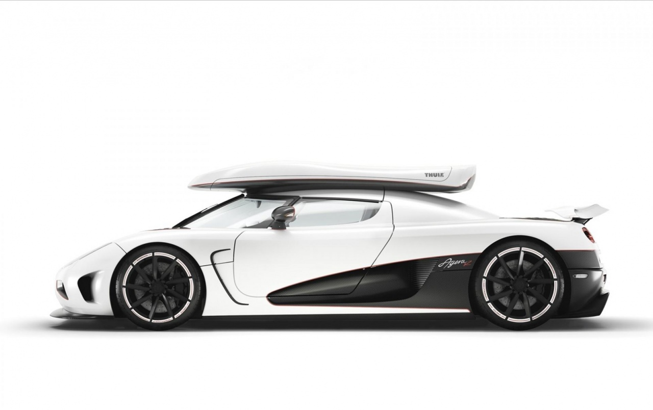 Wide Koenigsegg Agera R Side Wallpapers