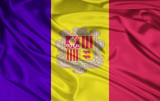 Andorra Flagge wallpapers