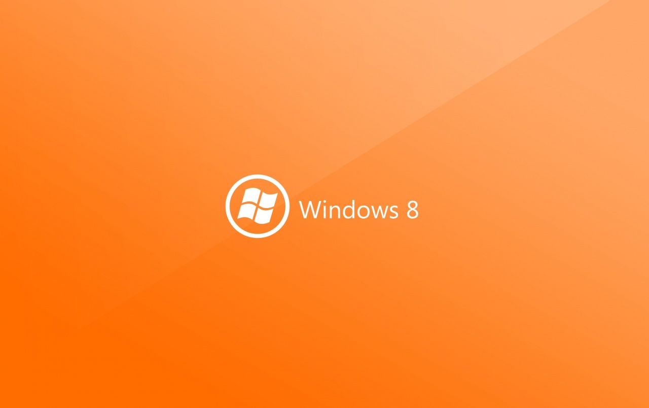 Windows 8 Orange wallpapers