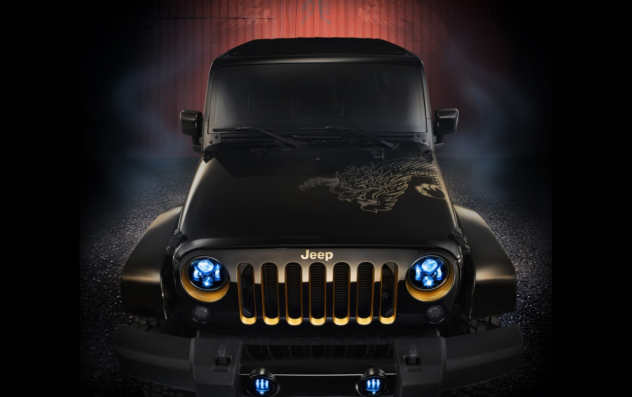 2012 Jeep Wrangler Dragon Design Concept Static wallpapers