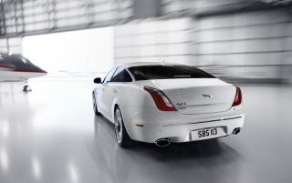 2012 Jaguar XJ Ultimate Motion Rear wallpapers and stock photos