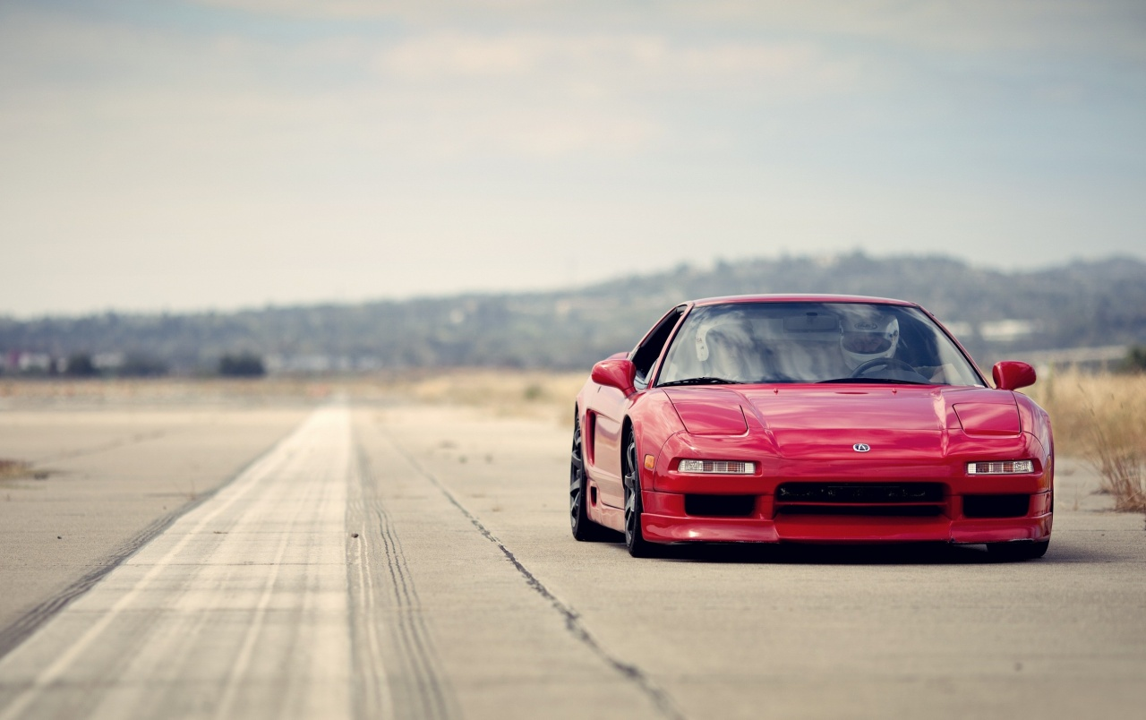 Red Acura NSX Stock Photos