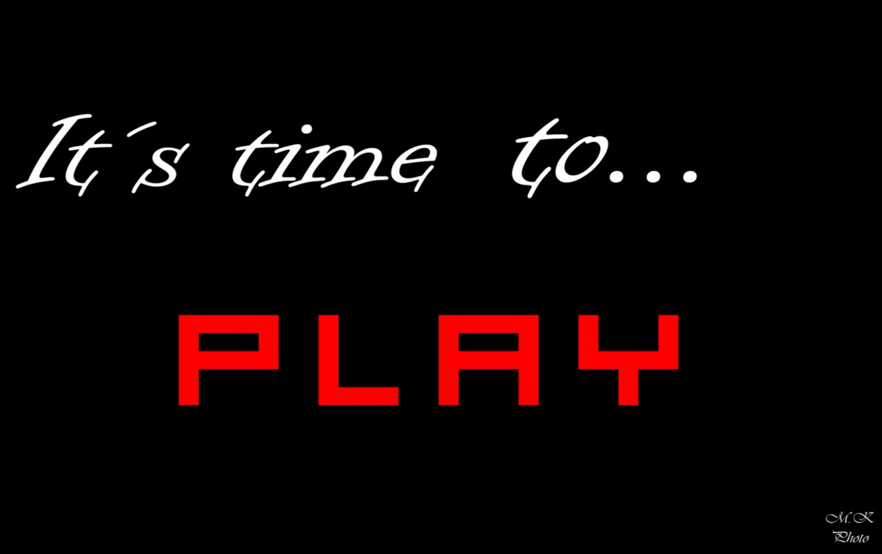 It´s time to PLAY wallpapers
