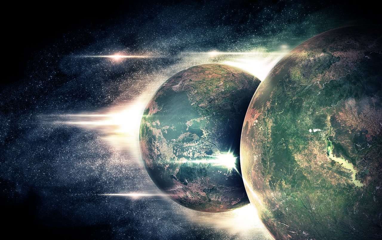 Twin Planets wallpapers   Twin...