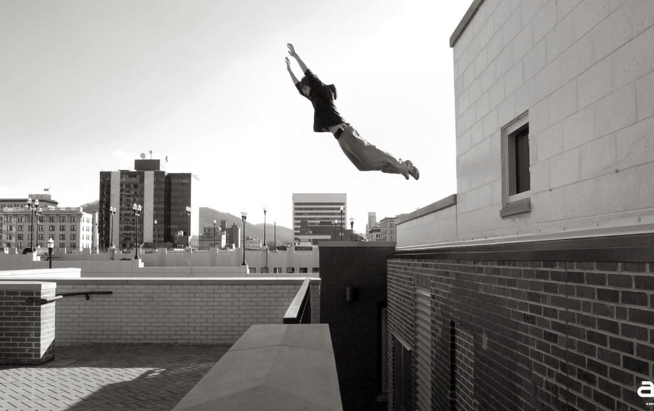 OriginalHD American Parkour Black And White Wallpapers